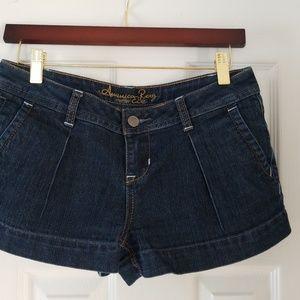 American Rag denim shorts.